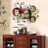 SED Kreative Wandbehang Ornament American Pastoralen Schmetterling Eisen Platte Home Wohnzimmer Eingang Retro Kunst