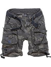 Herren Shorts BRANDIT - Gladiator Vintage Shorts Darkcamo - 2001/4