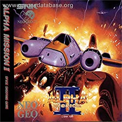 ALPHA MISSION II NEO GEO CD VERSION EUROPEENNE