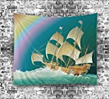 Art Impreso Tapestry Mandala Wall Hanging Playa Throw Wall Decor , 3 , 200*150cm