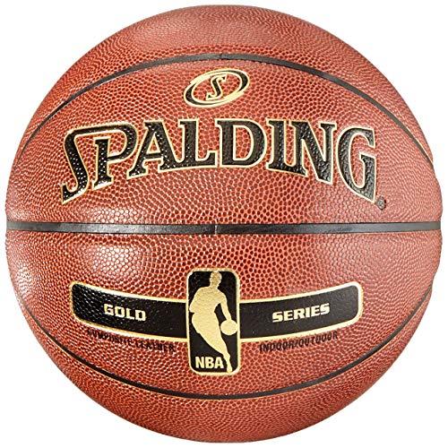 Spalding NBA Gold - Basketball Indoor Outdoor Pelota