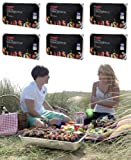 6 X FAMILY SIZE INSTANT DISPOSABLE BBQ- EACH PACK COOKS FOR TEN! Best Review Guide