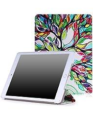 MoKo Apple iPad Air 2 Funda - Ultra Slim Ligera Smart-shell Funda Para Apple iPad Air 2 (iPad 6) 9.7 Inch iOS 8 Tablet, Lucky Tree (Con Cierre Magnético Para Reposo Automático)