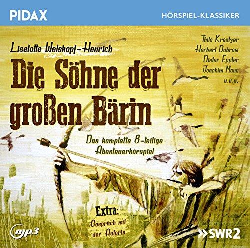 Pidax Hörspiel-Klassiker - Die Söhne der großen Bärin (Liselotte Welskopf-Henrich) SWF 1967 / Pidax 2015
