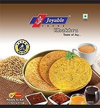 Joyable Khakhra - Pack of 6, 200 GMS Each (Ajwain (Carom Seeds))