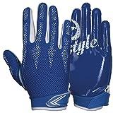 Prostyle Arrow, leicht Gepolsterte Football Receiver Handschuhe - royal Gr. L