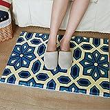 Haosen 40x60cm Bad Küche Bad Flur Türmatten Fußmatte Hause Matten Antirutschmatten Teppich