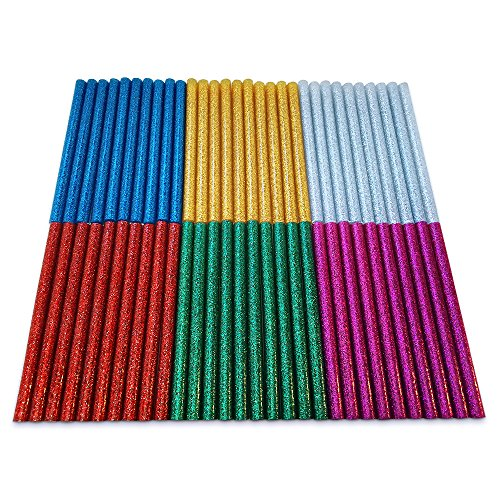@ Assortimento di Colla a Caldo con Glitter Amdai (Confezione da 60) – 7 mm x 100 mm comprare on line