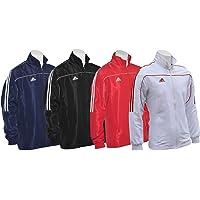 adidas Tracksuit Jacket Top Mens Womens Kids Club TR-40 Sport 3 Stripes