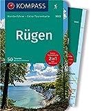 Rügen: Wanderführer mit Extra-Tourenkarte 1:50.000, 50 Touren, GPX-Daten zum Download (KOMPASS-Wanderführer, Band 5003) - Bernhard Pollmann