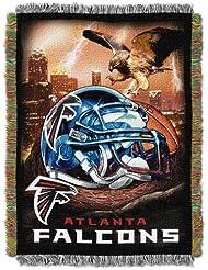 NFL Atlanta Falcons Acrylic Tapestry Throw Blanket