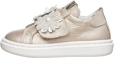 NEROGIARDINI E021310F Sneaker Kids Bambina Pelle / Tela