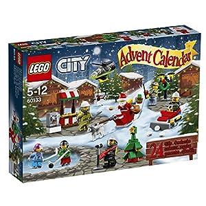 LEGO city Set Costruzioni, Calendario dell'Avvento, Colore Vari, 60133 5702015594943 LEGO