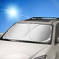 Parasole per parabrezza, FRECOO Parasole per auto per la Parabrezza Anteriore, Auto Protezione Parabrezza Protettore…