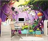 FORWALL Fototapete Vlies Tapete Moderne Wanddeko Fee und Einhorn VEXXL (312cm. x 219cm.) AMF11707VEXXL