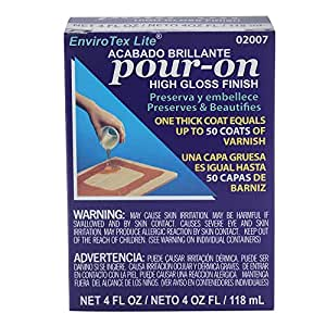 Envirotex Lite Pour-On High Gloss Epoxy for Sealing Bottlecaps 4 oz by EnviroTex Lite