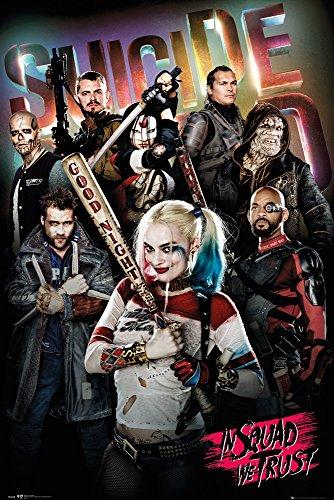 GB eye LTD, Suicide Squad, In Squad We Trust, Maxi Poster, 61 x 91.5 cm