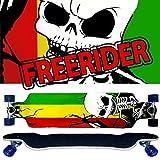 Longboard JAM Freerider Cruiser Downhill - sehr gute Lenkung - 9 Schichten KANADA Ahorn