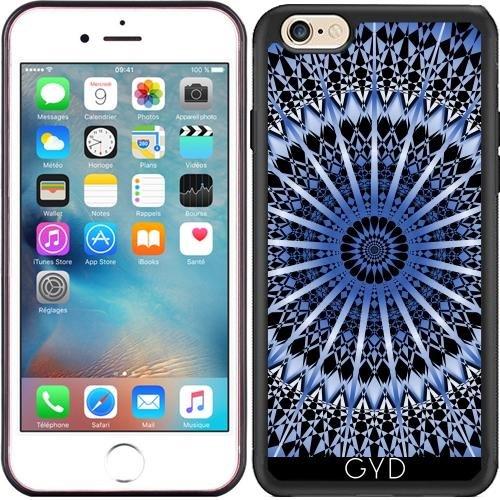 Custodia in silicone per Iphone 7 Plus / 8 Plus - Mens Nero Metallizzato Blu by Nina Baydur Silicone