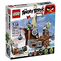 LEGO 75825 Angry Birds Piggy Pirate Ship Building Set