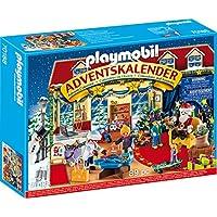 Playmobil 70188 Christmas Adventskalender Weihnachten im Spielwarengeschäft, ab 4 Jahren, bunt, one Size