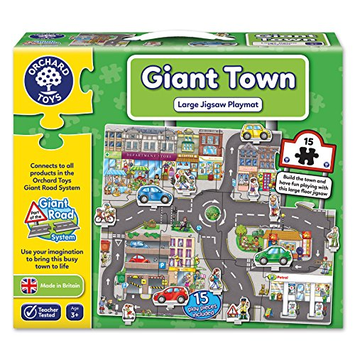 Orchard Toys Giant Town Floor Puzzle