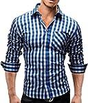 Merish Hemd Slim Fit 5 Farben Größen...