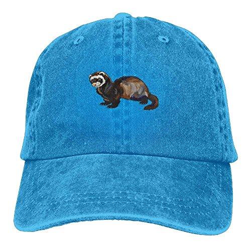 Qinckon Computer Programmer Denim Hat Adjustable Women Surf Baseball Hat New -