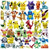 XINPIN 48 pcs Pokemon Monster Mini Figure 2-3cm in Random …