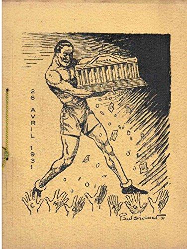 Bourse - 26 avril 1931 - Recueil de cari...