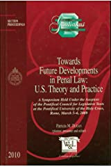 Towards Future Developments in Penal Law: U.S. Theory and Practice (Gratianus) Hardcover