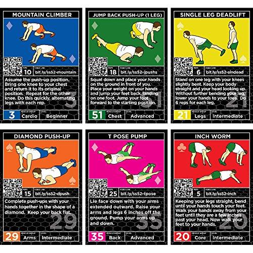 Zoom IMG-2 carte per esercizi a peso
