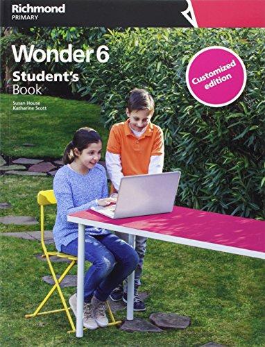 WONDER 6 STUDENT'S CUSTOMIZED - 9788466823173 por Katharine Blanca Scott