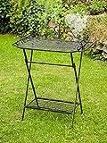 Butlers tray trolley garden table folding table table garden