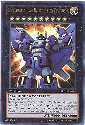 Yu-Gi-Oh! - SuperdiHommes sional sional sional Robot Galaxy Destroyer (REDU-EN044) - Return of the Duelist - Unlimited Edition - Ultra Rare by Yu-Gi-Oh! | Exquis (en) Exécution