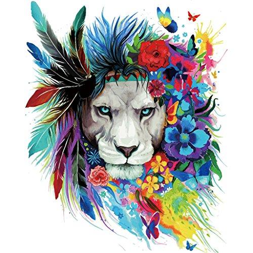 Parches Hergon Lion para ropa de niños