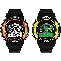 SWADESI STUFF Digital Multicolour Dial Boy's & Girl's Watch
