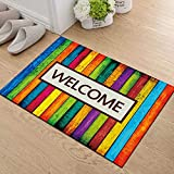 1 Pc Modern Welcome Home Anti Slip Doormat Carpet for Entrance Entry Front