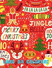 Idea Regalo - Buon Natale Album Da Colorare: Merry Christmas Coloring Book Kids; Coloring Book for 3 Year Olds: Volume 5