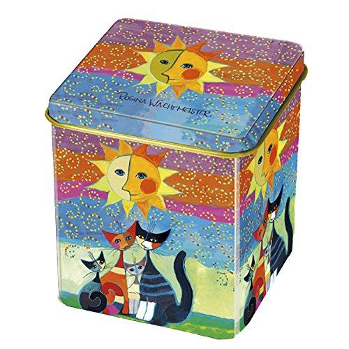 Fridolin 19351 Wachtmeister Momenti Di Félicita Boîte de Thé Métal Multicolore 8 x 6,8 x 6,8 cm