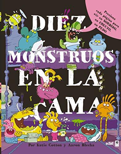 Diez Monstruos En La Cama por Karie Cotton