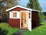 Weka Saunahaus 106 Gr. 1 inkl. 7,5 kW Sauna-Ofen (OS)
