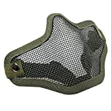 masque de protection - TOOGOO(R) exterieure Airsoft CS masque de protection(Vert)