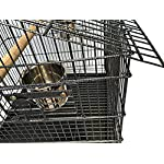 FoxHunter Large Metal Bird Cage Stand For Parrot Macaw Budgie Canary Finch Cockatiel Aviary Lovebird Parakeet With Wheel… 14