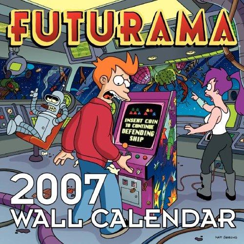 Click for larger image of Futurama 2007 Wall Calendar