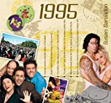 1995 Birthday Gifts For Men - 1995 Chart Hits CD and 1995 Year Greeting Card by Various - See Listing (2009-06-04)