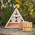 """Insektenhotel,Insektenhaus, Nistkasten Insekten Holz Bienenhotel """"10.138"""" von Werkstätten Martinshof auf Du und dein Garten"""