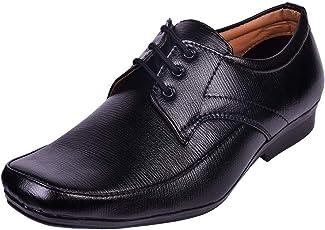 RJKART Men's Office Faux Leather Shoes