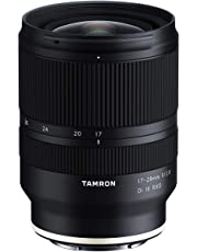 TAMRON 17-28 F/2.8 Di III RXD Wide Angle Zoom Lens for Sony E- Mount MIRRORLESS Full Frame Cameras
