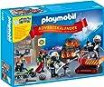 PLAYMOBIL 5495 - Adventskalender Feuerwehreinsatz mit Kartenspiel